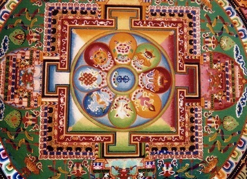 meditación mandala