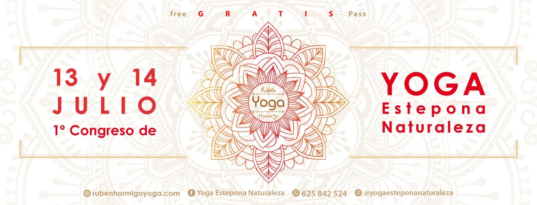 1 congreso de #yogaesteponanaturaleza