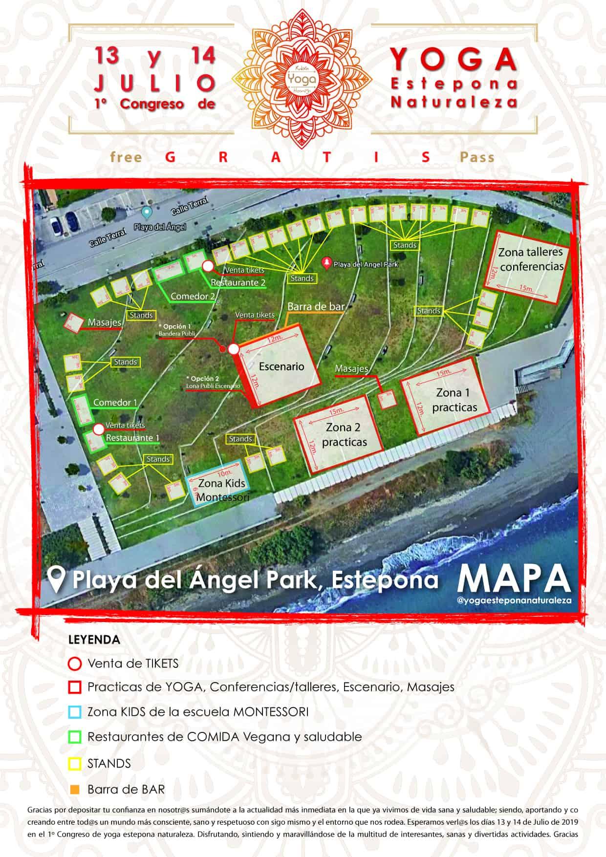 Mapa yoga estepona naturaleza ruben hormigo yoga