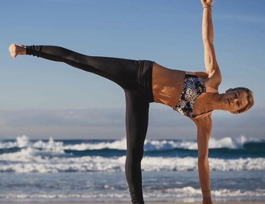 Ardha chandrasana: Postura de media luna (Bikram yoga)