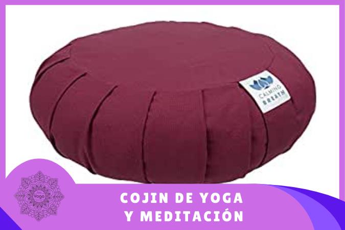 Cojin de yoga y meditación