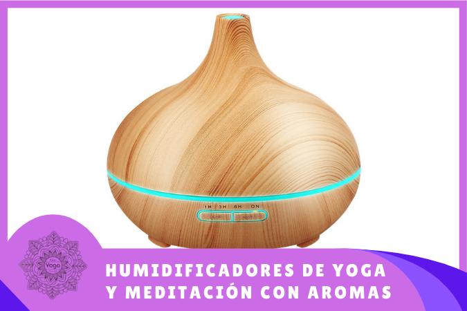 Humidificadores de yoga y meditación con aromas