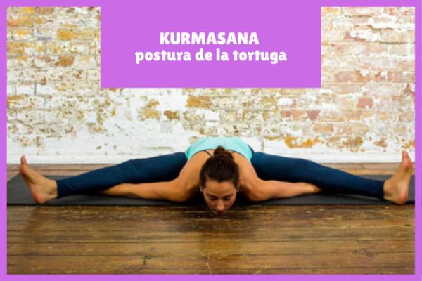 yogui en KURMASANA la postura de la tortuga