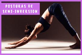 Posturas de Yoga semi-inversion