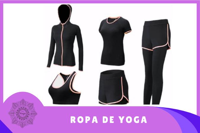 ropa de yoga para mujer