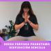 yogui practicando SUKHA PURVAKA PRANAYAMA o respiración sencilla