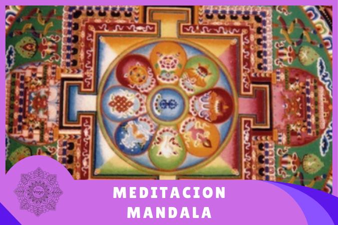 símbolo dibujo para hacer meditación mandala