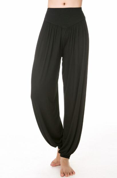 pantalon de yoga de mujer ancho