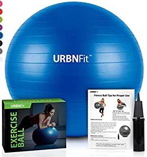 pelota de yoga azul